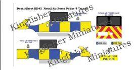RAF Police Set 3- Dog Unit Ford Transit